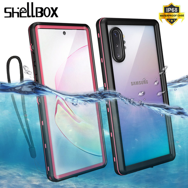 IP68 Waterproof Case For Samsung Note 10 10Plus Case Underwater Diving Swim Proof Dustproof Full Cover For Samsung Note 10+ Case