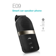 E09 Car Bluetooth Receiver Wireless Hands-Free Calling MP3 Player Adapter Auto AUX Kit for Speaker Headphone Bluetooth Aux(China)
