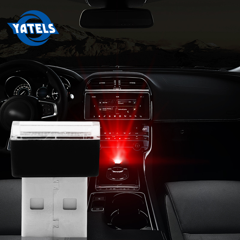 1pcs <font><b>Car</b></font> <font><b>USB</b></font> <font><b>LED</b></font> Atmosphere Lights Decorative Lamp Emergency Lighting Universal PC Portable Plug and Play <font><b>Car</b></font> Accessories image