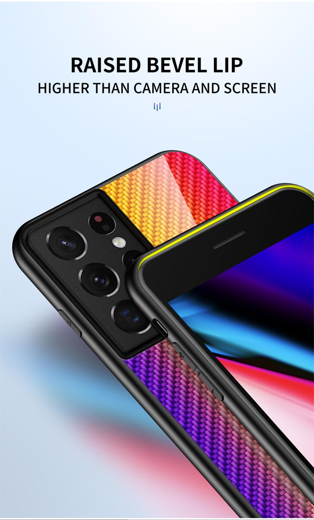 Galaxy S21 Ultra Carbon Fiber Case 9