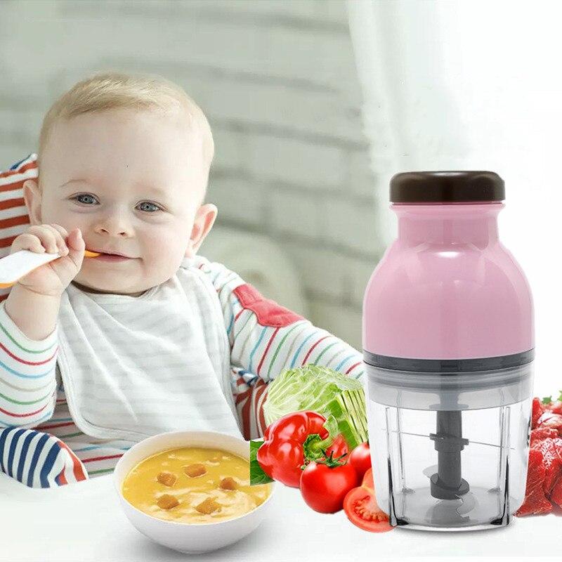 Электрическая мини-машина для кормления детей, многофункциональная машина для измельчения мяса, пюре, Миксер для кормления детей