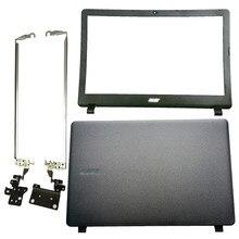 Novo portátil lcd capa traseira/moldura dianteira/lcd dobradiças para acer aspire ES1-523 ES1-533 ES1-532 ES1-572 série superior caso capa