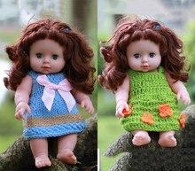 12'' 30CM  Soft Vinyl Eyes Blinking Simulational Educational Baby Dolls Simulation washable Dolls Toys Gifts aqk aqk bjd1 4 dolls castle spider sd dolls free eyes