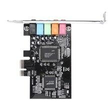 Pci X1 Pci-E 5,1 аудио цифровая звуковая карта Cmi8738 чипсет с Cd Драйвером