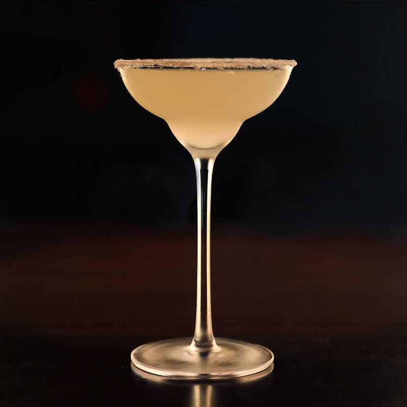 Envío gratis 4 Uds 145ml vasos de Margarita copa de cocktail gafas de Martini de vidrio Juego de 4