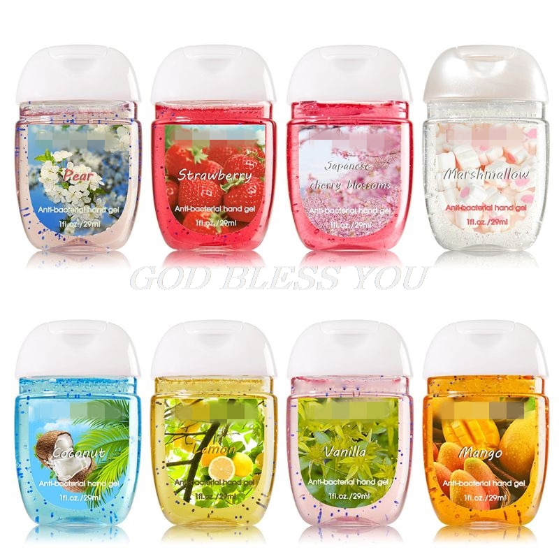 30ml Travel Portable Mini Hand Sanitizer Disposable No Clean Waterless Clear Outdoor Cleansing Fluid