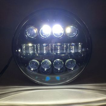 Neue 7inch Led Scheinwerfer 60w Für Lada Niva Hallo/Abblendlicht Licht Halo Winkel Augen DRL Scheinwerfer Für Jeep Wrangler Off Road 4x4 Suzuki S