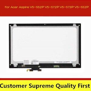 15.6 laptop laptop painel digitador da tela de toque do portátil para acer aspire V5-552 552pg V5-552P V5-572 572pg V5-573 V5-573P