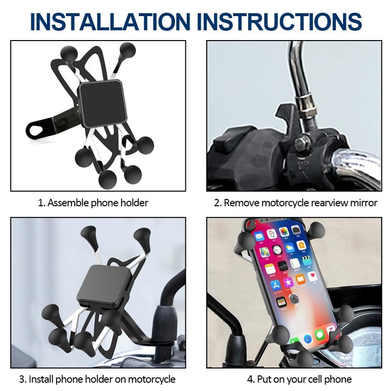 phone mount for bike