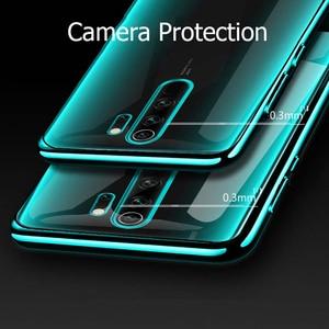 Image 3 - For Xiaomi Redmi Note 8 Pro Case Laser Plating Luxury TPU Soft Clear Cover Xiomi Xiaomi Mi Redmi Note 8 T 8T Note8 8A Phone Case