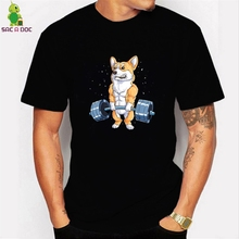 Camisetas hombre new Men T Shirt Corgi W