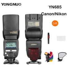YONGNUO i-ttl вспышка Speedlite YN685 YN685N YN685C работает с YN622N YN622C RF603 Беспроводная вспышка для Nikon Canon DSLR камер