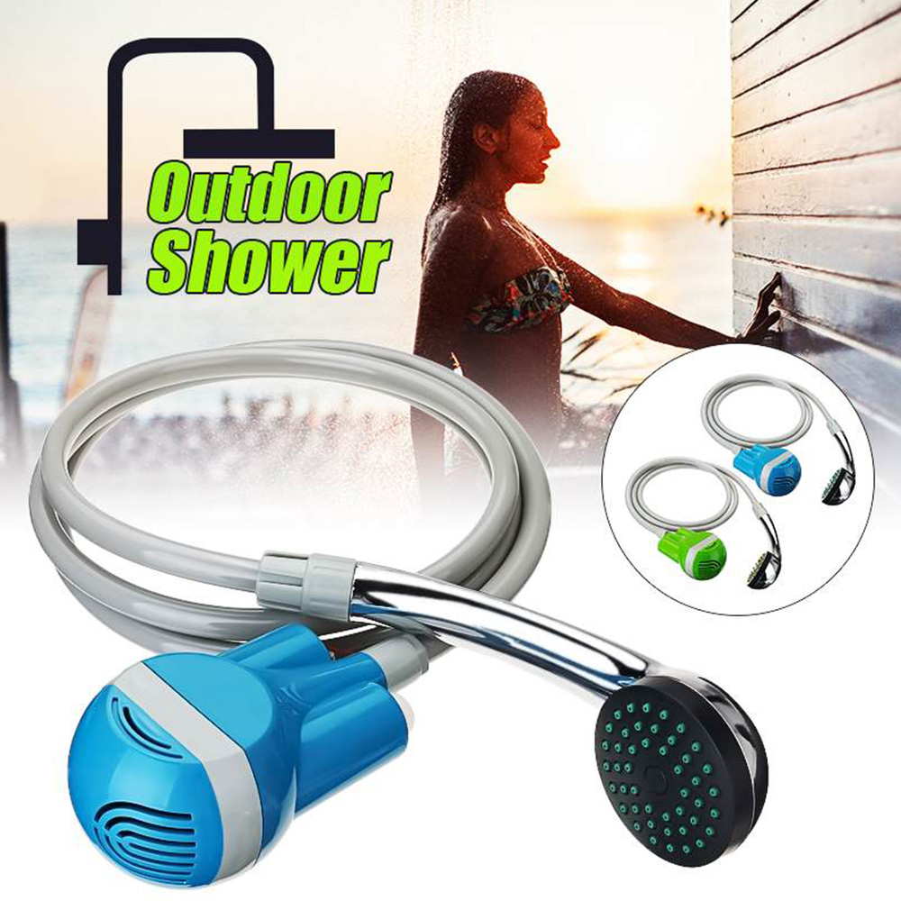 Outdoor Shower Portable Camping Shower Car Washer 12V Wireless Car Shower DC 12V Pump Pressure Shower Outdoor Travel Pet Shower