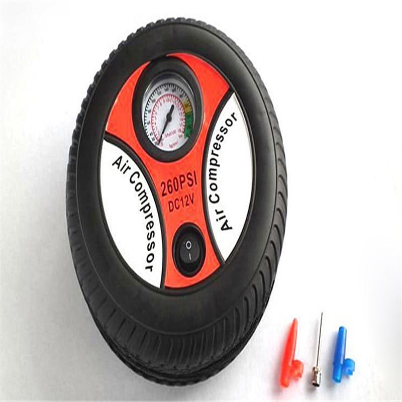 Hot Mini Portable Car Air Compressor 12v Auto Inflatable Pumps Electric Tire Inflaters BX