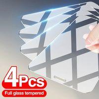 9H Protector de pantalla de vidrio templado Premium guardia escudo Protector para iPhone 12 11 PRO MAX X XR XS XSMAX 12mini SE 5s 6S 6 7 8 Plus