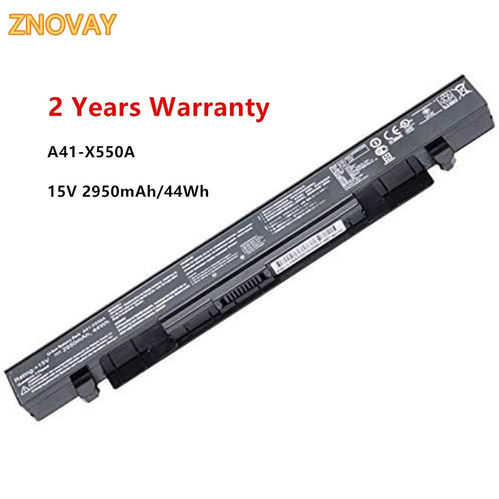 15V 2950mAh 44Wh A41-X550A A41-X550 Bateria Do Portátil Compatível com Asus A450 A550 F450 K450 K550 X450 X550 X550CA Notebook