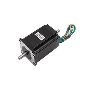Image 3 - 4 Trục NEMA 23 Động Cơ Bước Bộ: Nema23 Động Cơ 4 Đầu 3N. M + DM542 Driver + Đột Phá Bảng + 350W 36 V CNC Router