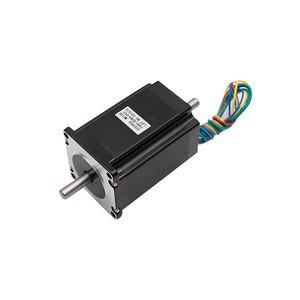 Image 3 - 4 axis Nema 23 Stepper motor kit:nema23 motor 4 lead 3N.m+DM542 driver+ breakout board+350W 36v power supply CNC Router