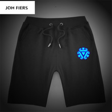 New Luminous mens  Shorts Print Cool One Punch Man Casual Summer Beach Clothes man JOH FIERS