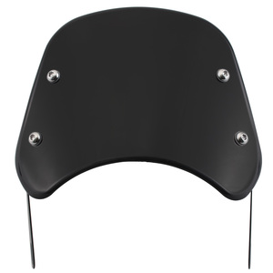 "Moto 5 - 7"" Black Vintage Headlight Windshield Instrument Visor Wind Deflector For Harley Honda Yamaha Suzuki Street Cafe Racer(China)"