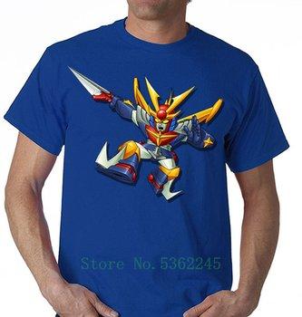 Tshirt Jeeg Robot Daitarn 3 Mazinga Goldrake Manga koszulka Taglie Fino Alla Cartoon T koszula mężczyzna moda nowy Unisex Tshirt