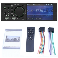 1Din 4.1 Inch Press Screen Tft Car Stereo Mp5 Player Fm Radio Bt4.0 Usb Aux Rca With For Xiaomi Remote Control Car Mp4,Mp5, 7805
