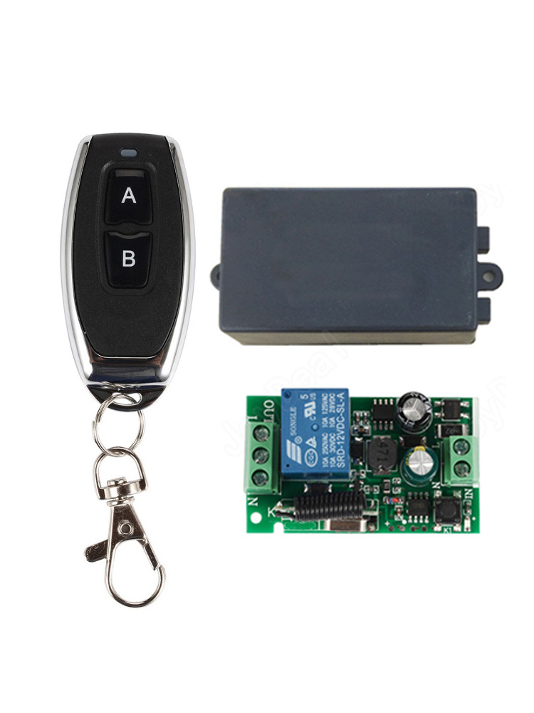 Lamp Transmitter Remote-Control-Switch Led-Lights 433mhz 110V 220V Wireless On/off-433