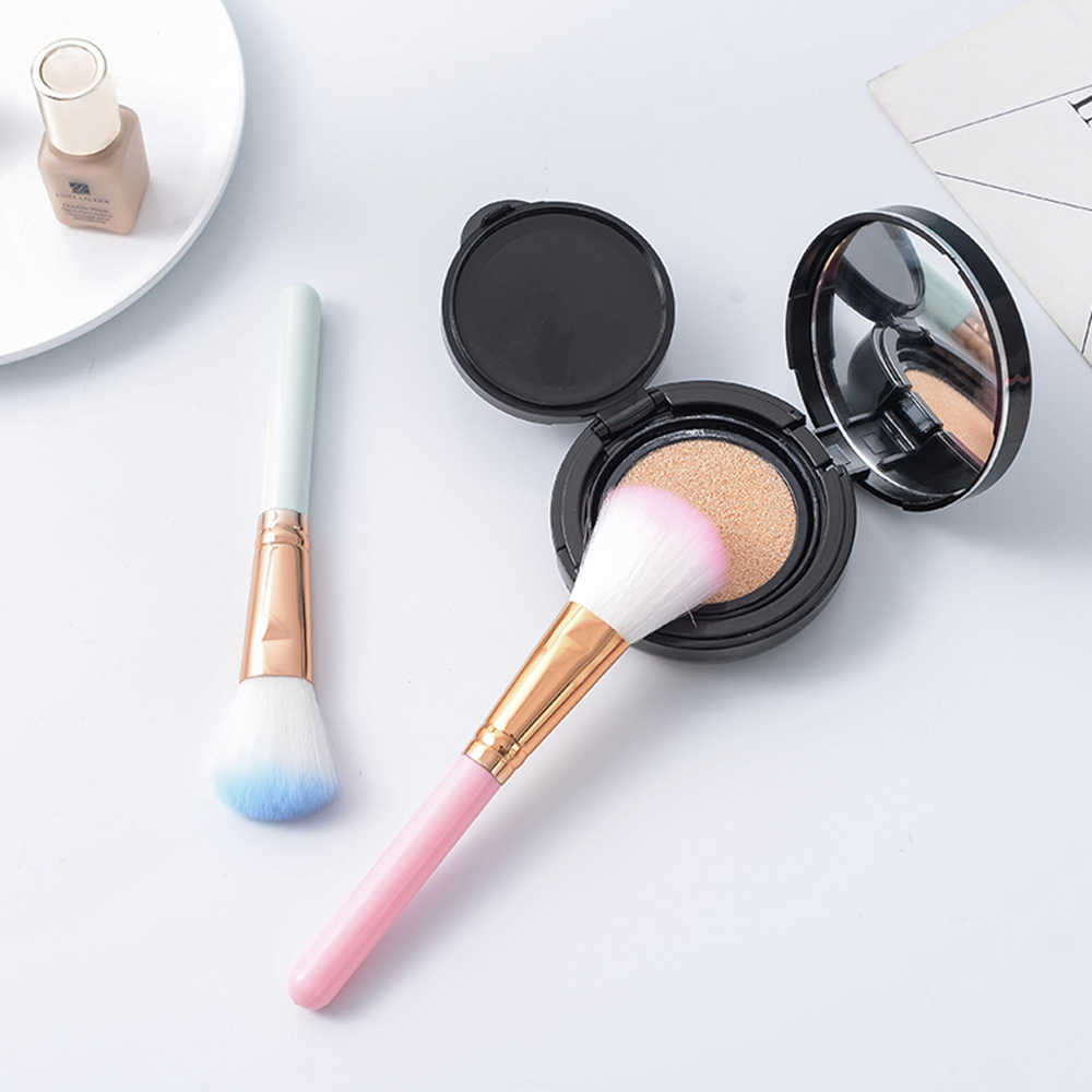 Make-Up Kwasten 1Pcs Oogschaduw Blending Eyeliner Wimper Wenkbrauw Concealer Blush Make Up Kwasten Professionele Oogschaduw Borstel