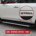 Auto Edelstahl seitenschutzleisten seite tür dekoration für Nissan X-Trail X Trail T32 2014 2015 2016 17 18 2019 auto styling