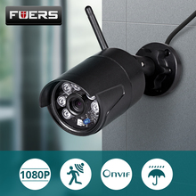 FUERS WIFI IP Camera CCTV Wireless Security Camera Outdoor Waterproof  motion detection Night Vision Monitor