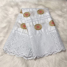 % 100% pamuk işlemeli Bazin Riche brokar dantel kumaş ile taşlar afrika havzası Brode dantel kumaş kadınlar için elbise Bazin Riche
