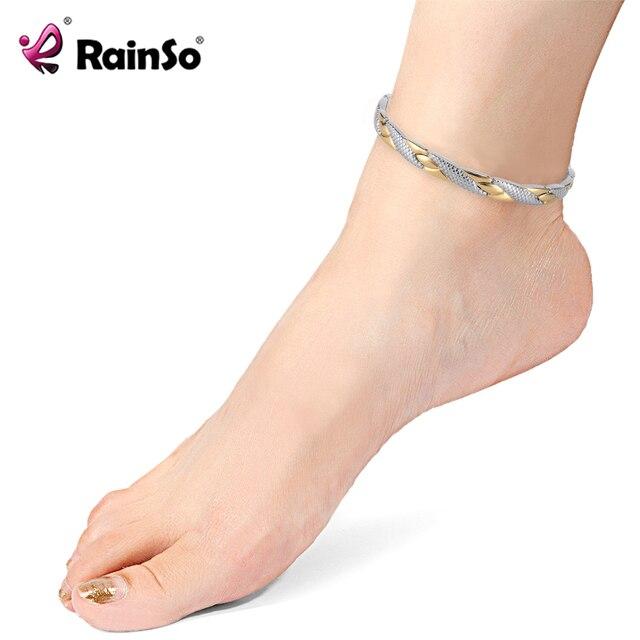 H48d7588b78114876b7ddc16b8b162de6S - Stainless Steel Bracelet Anklets for Arthritis