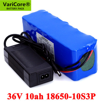 36V 10Ah 18650 Lithium Battery pack 300W 500W 750W 20A BMS Motorcycle Electric Car Bicycle Scooter with 42V 2A Charger liitokala 18650 battery 36v 25ah 30ah 20ah 15ah lithium battery electric motorcycle bicycle scooter with bms