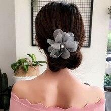 Woman Flower Donuts Twist Headband