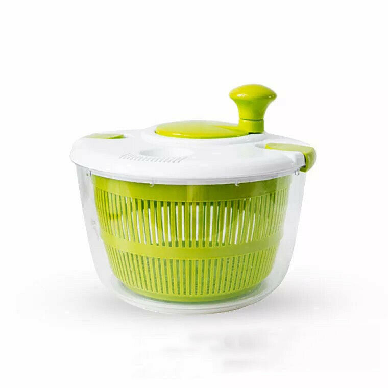 Salad tools bowl Jumbo Salad Spinner Large Manual Vegetable Washer Spinner Dryer Household Fruit Dehydrator Dryer Kitchen Tools image