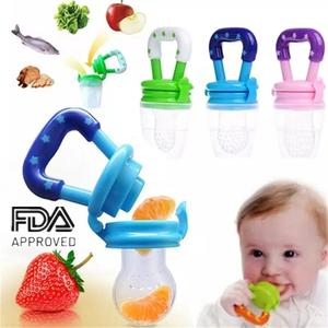 Pacifier-Bottles Milk-Feeder Fresh Fruit Baby Food Kids Nibbler Nipple-Teat Safe