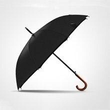 Nova Chegada OLYCAT Marca a Longo Guarda chuva 8K Homens Chuvas Chuva À Prova de Vento Punho De Madeira Grande Qualidade Clássico Negócios Paraguas