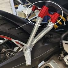 Akcesoria motocyklowe podnóżek pasażera podnóżek szeroki pedał wspornik boczny extender regulacja dla CB650R CBR650R 2019 2020