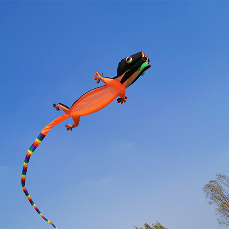 12m novo lagarto gecko kite macio inflável