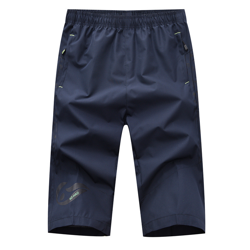 MEN'S Shorts Summer Shorts Korean-style Slim Fit Capri Pants Shorts Capris Men's Summer Men'S Wear Beach Breeches