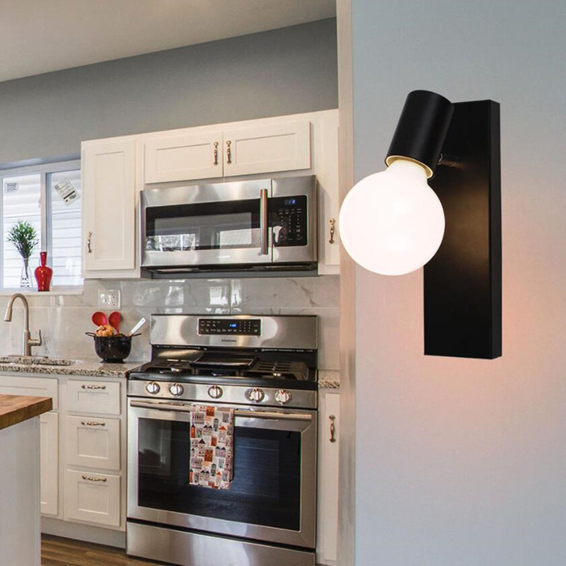 New Nordic modern vintage bedside wall lamp adjustable Wall lamp Led living room bedroom bathroom lighting