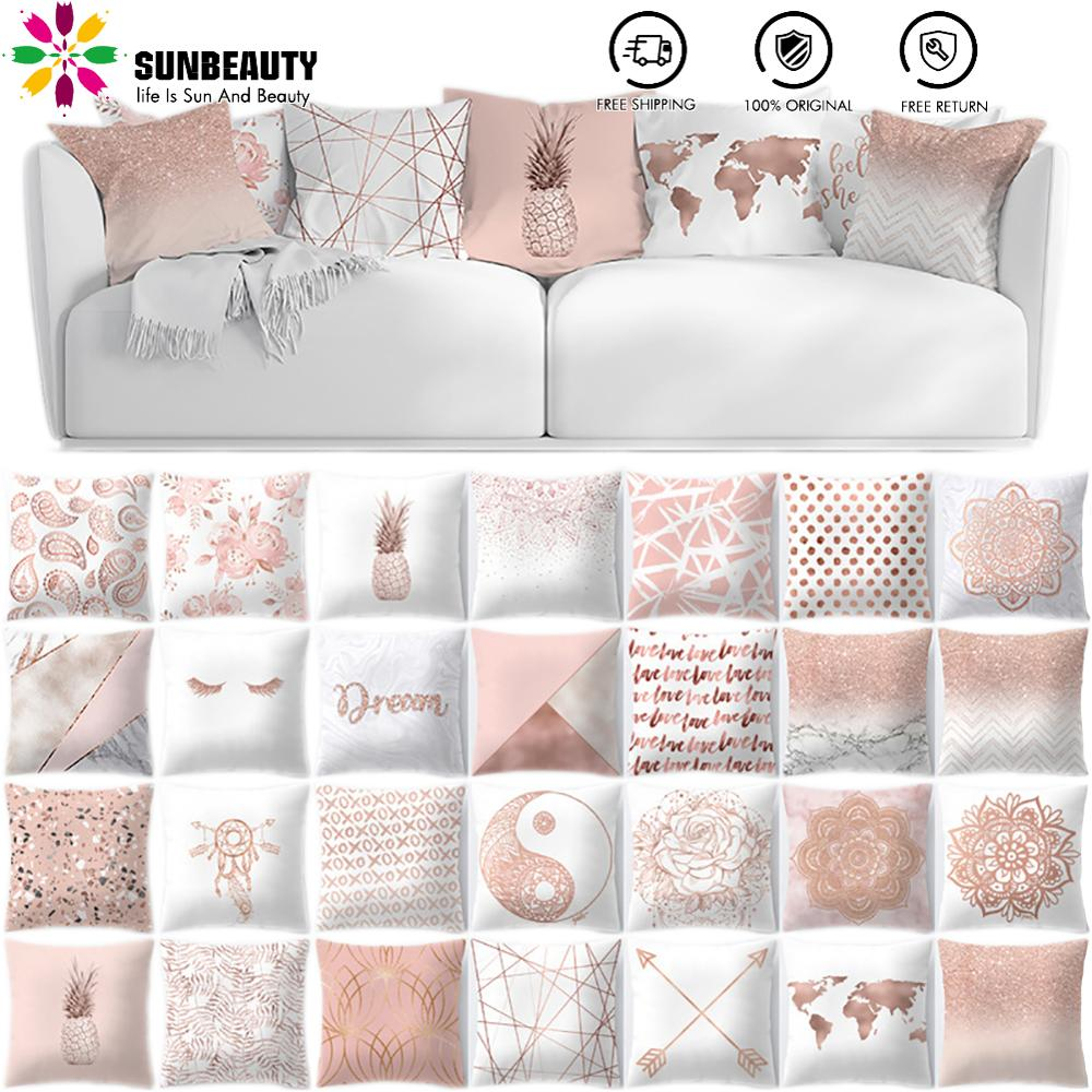 26sty Decorative Throw Pillow Cover Square Cushion Cover Decorative Pillows For Sleeping Sofa Bed Decor Funda Cojin  Wholesale