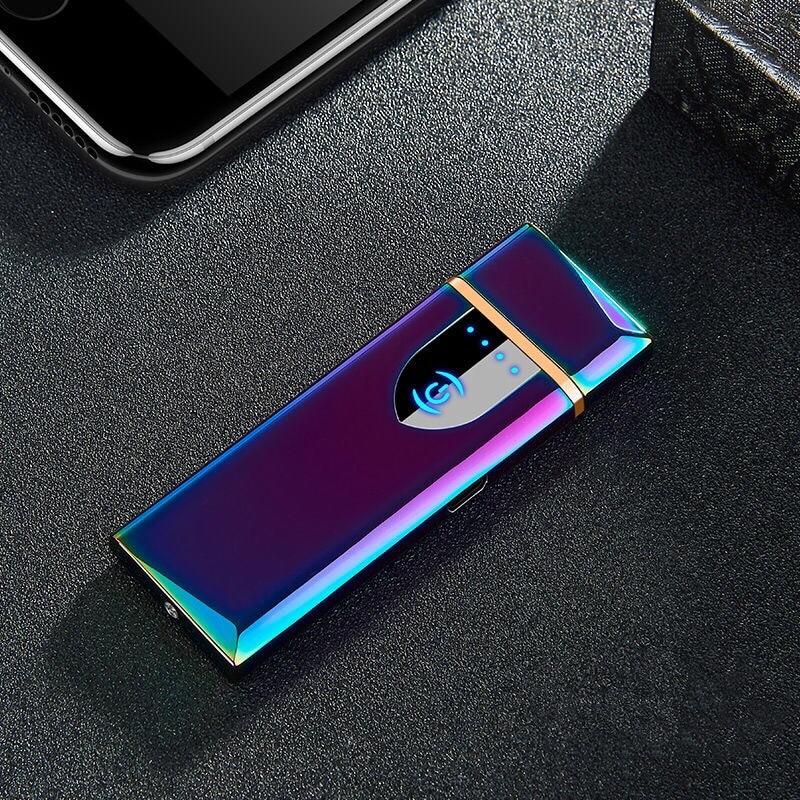 Environmentally USB Charging Lighter Creative Cigarette Lighter Windproof Fire Cigarette Accessories