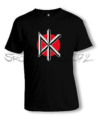 DEAD KENNEDYS DISTRESSED LOGO PUNK JELLO BIAFRA CIRCLE T-Shirt Size-S To 5XL