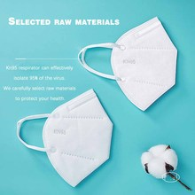 Disposable Mask  KN95 Bacteria Proof Flu and Dustproof Anti-fog  Breathable Cotton Face Masks 95% Filtration N95 Medical Mask