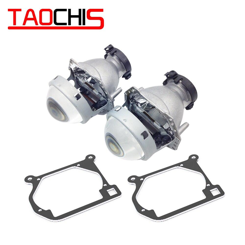 TAOCHIS adaptateur de cadre de transition de style de voiture Hella 3R G5 support de modification d'objectif de projecteur pour MAZDA 6 2002-2008