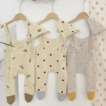 Boys Romper Overall Suit Toddler Newborn Baby-Girls Korean-Style Autumn