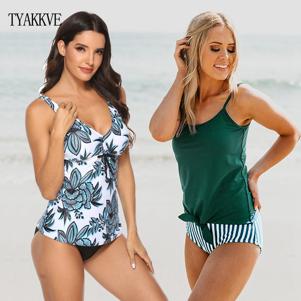 TYAKKVE Bikini 2019 Sexy Tankini Swimsuit Plus Size Swimwear Women Bathing Suit High Waist Swim Suit Maillot De Bain Femme S-5XL