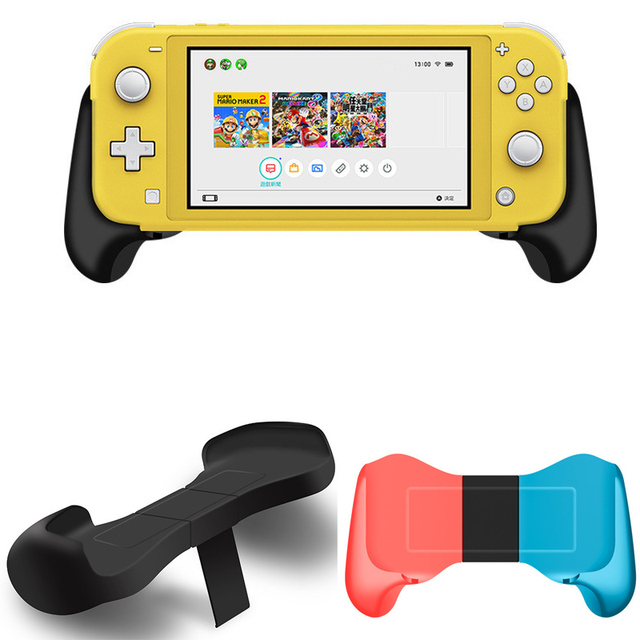 Réglable 2 in1 poignée télescopique poignée support de support pour Nintendo Switch & NS Switch Lite Mini Console étui de protection