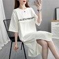 Хит продаж; Одежда для беременных женщин; Короткое Повседневное платье для грудного вскармливания; Одежда больших размеров для кормящих ма...